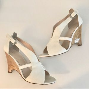 Alesya Italian Real Leather Wedges